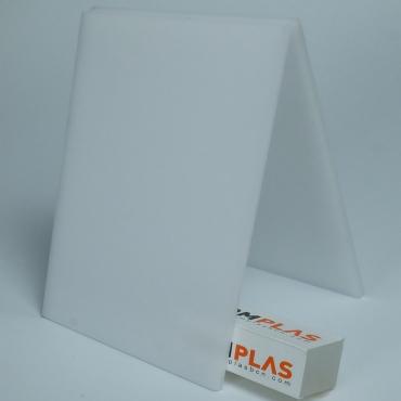 Metacrilato Plancha colada Blanco opal