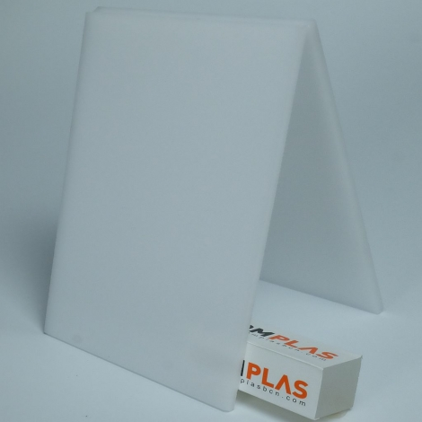 Metacrilat Planxa colada Blanc opal