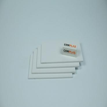 Plastics tecnics PVC escumat Blanc