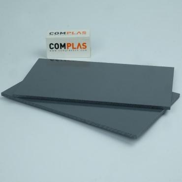 Plasticos Tecnicos PVC Rigido Gris