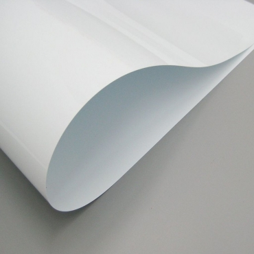PVC LAMINAS BLANCO     1000 X 700 X 0.3 MM