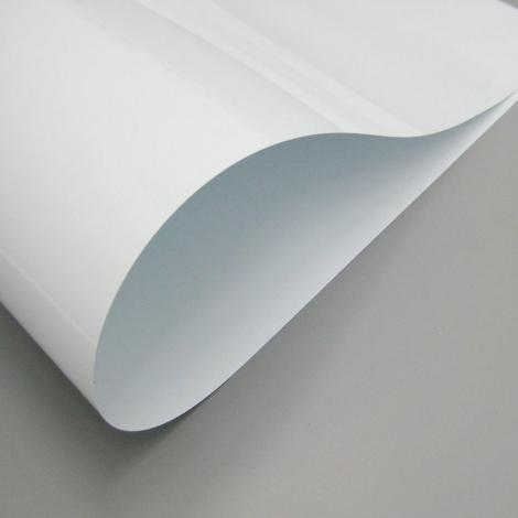 PVC LAMINES BLANC 0,5 MM