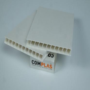 Plastics tecnics Polipropile cel·lular Blanc
